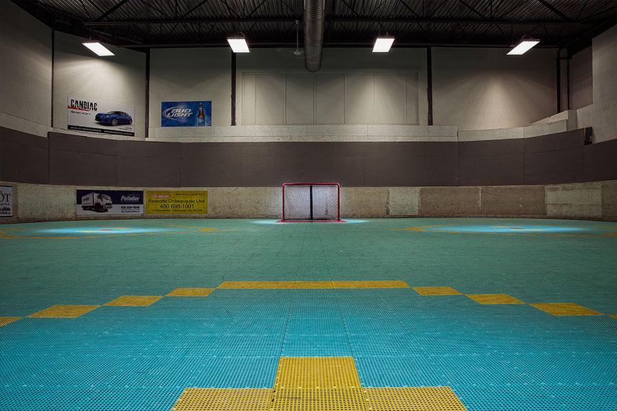 Surface interieur - Dekhockey Rive-Sud